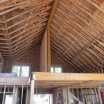 Mill Lake Cottage Loft Ceiling