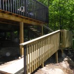 McDougall Cottage Ramp to Rock