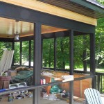 McDougall Cottage Screened Porch