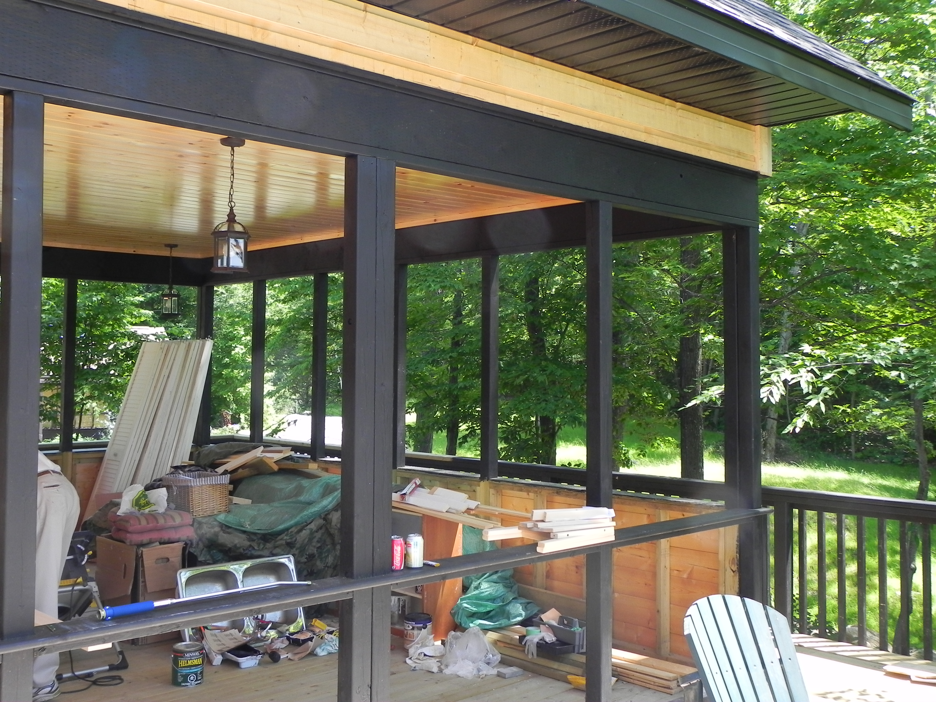 mcdougall cottage screened porch architectural drafting in