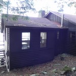 Blackstone Lake Cottage Renovation Existing Exterior of Kitchen