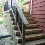 Gravenhurst Deck After Construction Rear Stairs