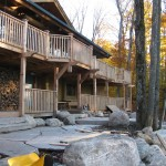 Parry Sound Deck Permit Dwg Lakeside Left View