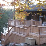 Parry Sound Deck Permit Dwg View of Rear Right
