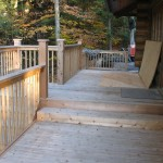 Parry Sound Deck Permit Dwg View of Upper Level Decking