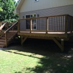Innisfil Deck Rebuild - After Construction Front Right View
