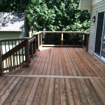 Innisfil Deck Rebuild - After Construction New Decking