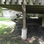 Innisfil Deck Rebuild - Before Construction Old Piers