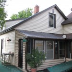McKellar Sunroom Addition - Before Construction Existing Porch