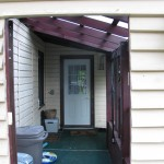 McKellar Sunroom Addition - Before Construction Existing Porch