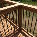 Uxbridge Deck - After Construction Intermediate Railing