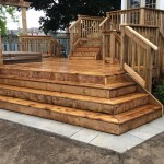 Keswick Deck - After Construction View of Cascade Stairs