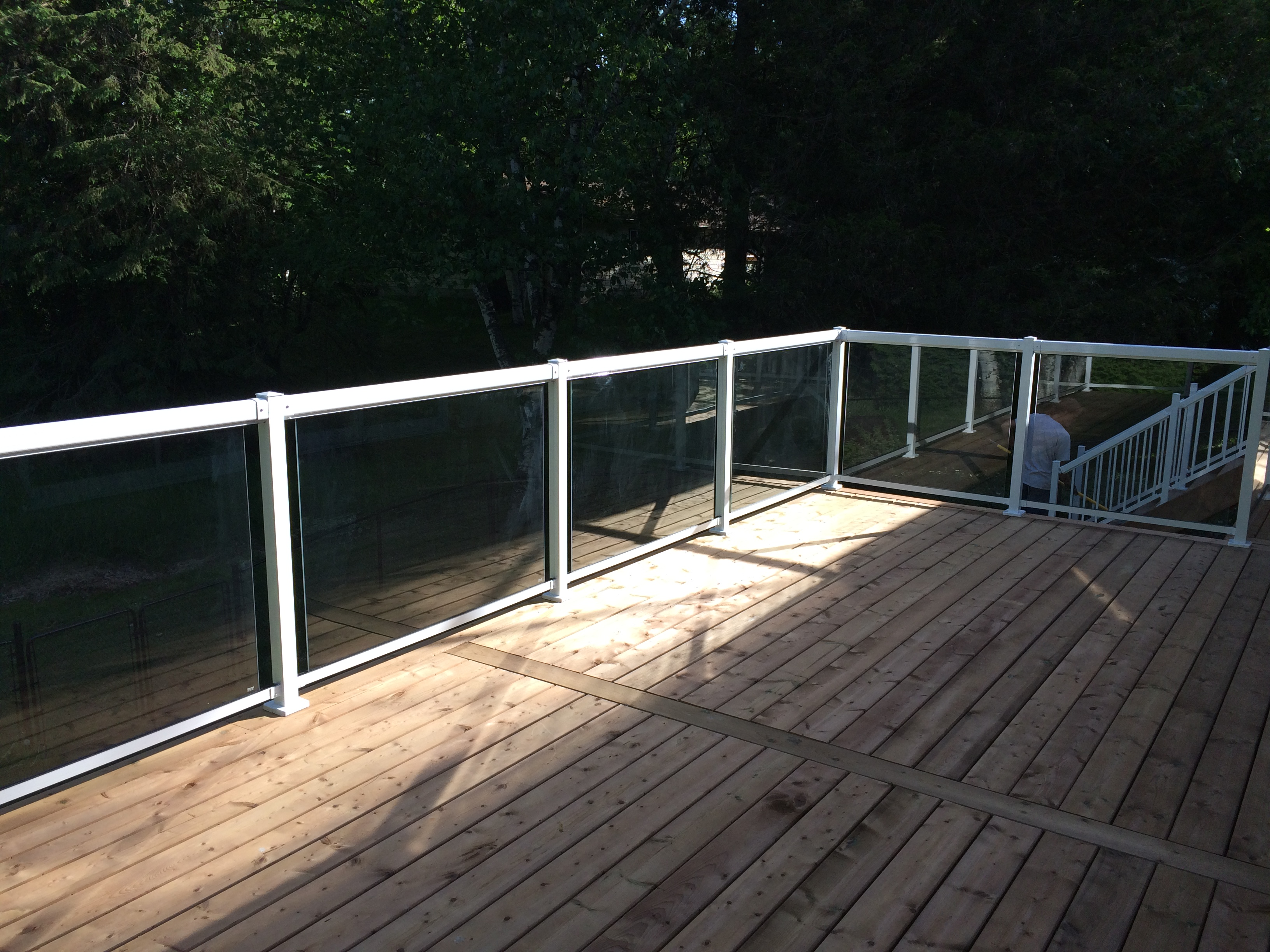 Sutton Deck - After Construction Looking Right