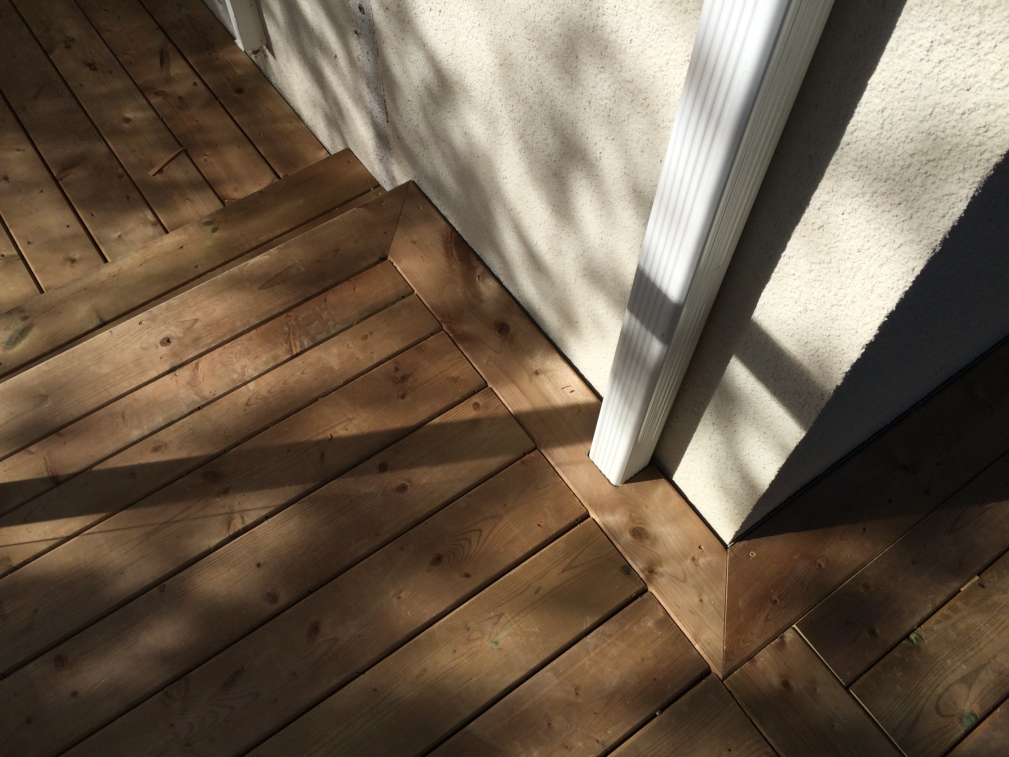Sutton Deck - After Construction Step onto Existing