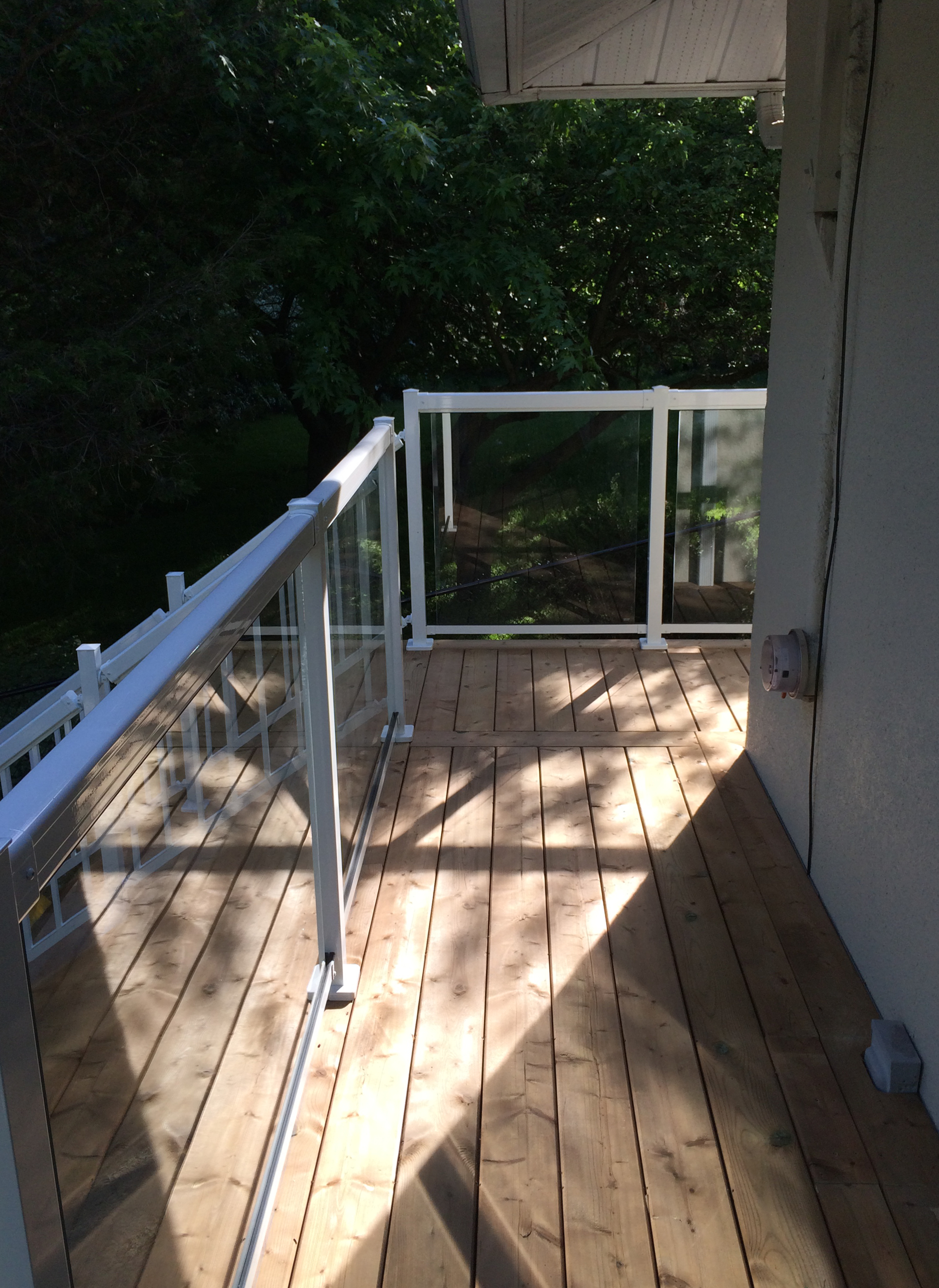 Sutton Deck - After Construction Walkway