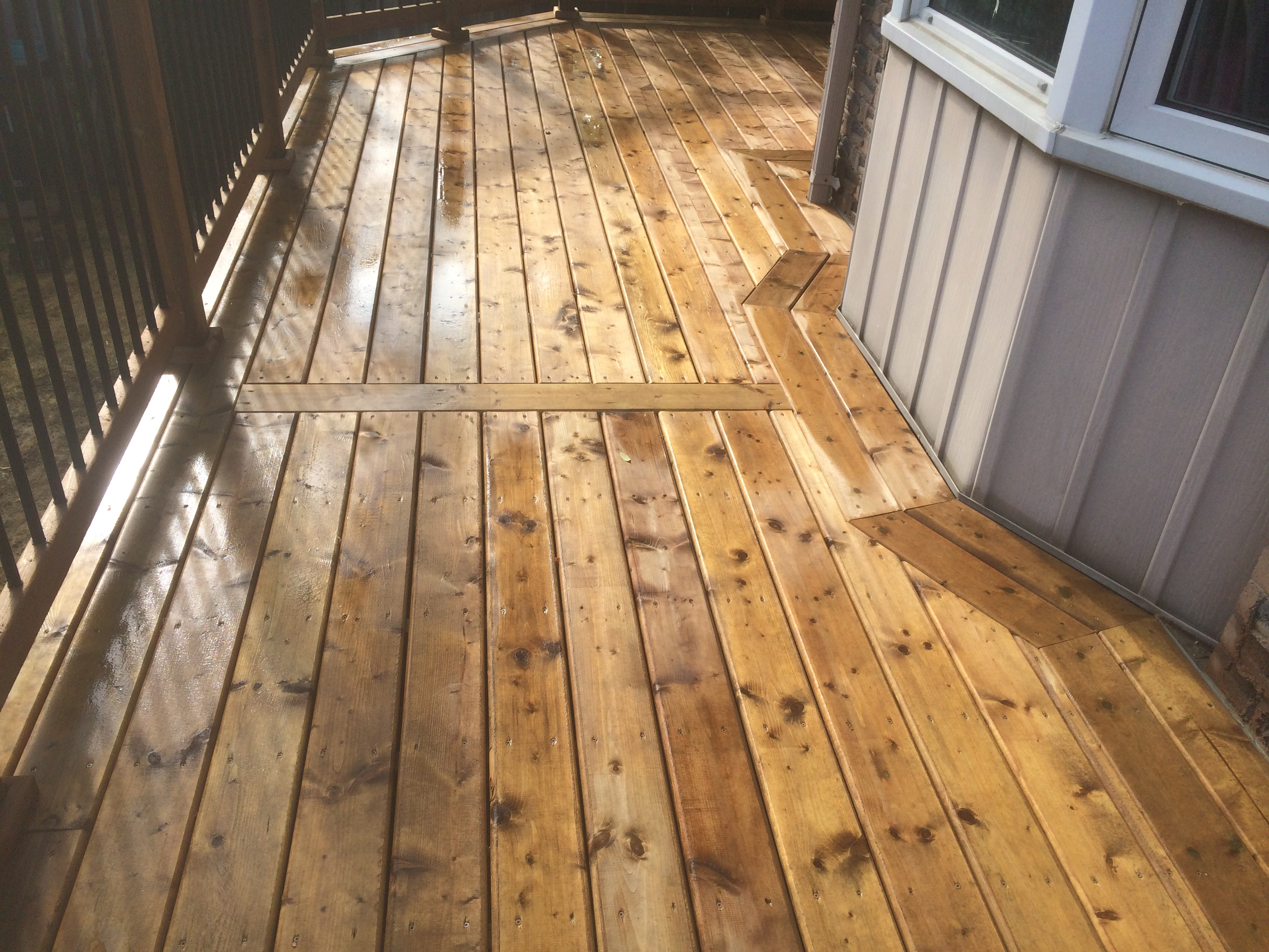 Redcastle Deck - After Construction Bay Decking