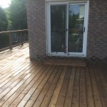 Redcastle Deck - After Construction Facing Right Patio Door