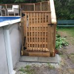Keswick Pool Deck - After Construction Gate