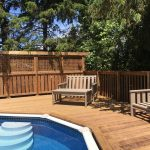 Keswick Pool Deck - After Construction Left Rear View