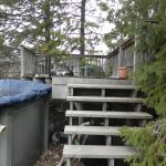 Keswick Pool Deck - Before Construction Stairs