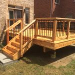 Richmond Hill Deck - After Construction Front Left View