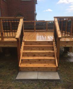 Richmond Hill Deck - After Construction Left Side View2