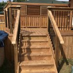 Keswick Pool Deck #2 - After Construction Stairs
