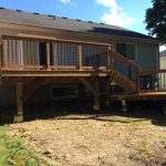 Elm Ave Deck - After Construction Front Left View