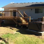 Elm Ave Deck - After Construction Front View