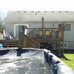 Elm Ave Deck - Before Construction Front View