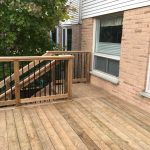 Delayne Drive Deck - After Construction Stair Landing