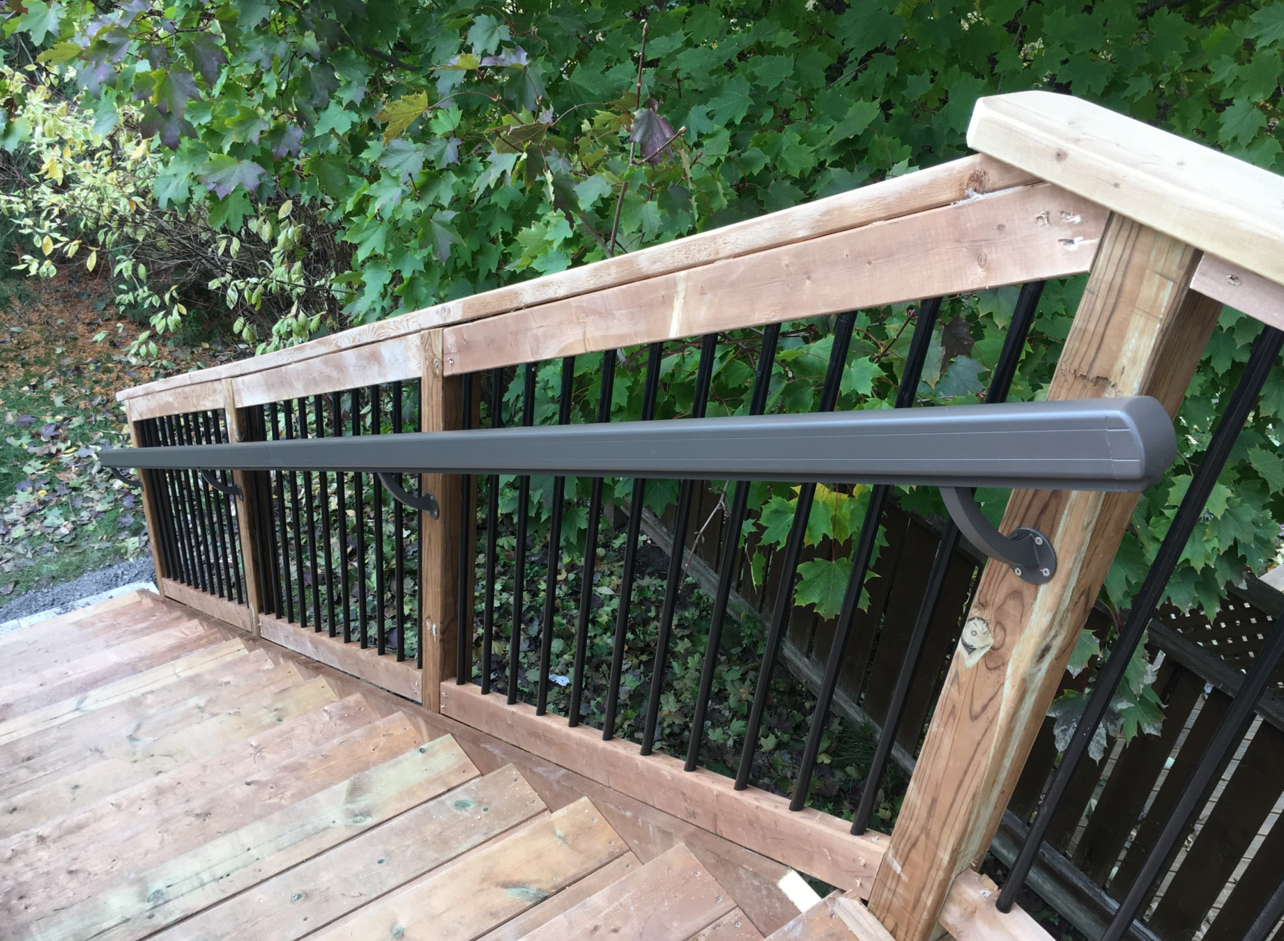 Delayne Drive Deck - After Construction Stairs