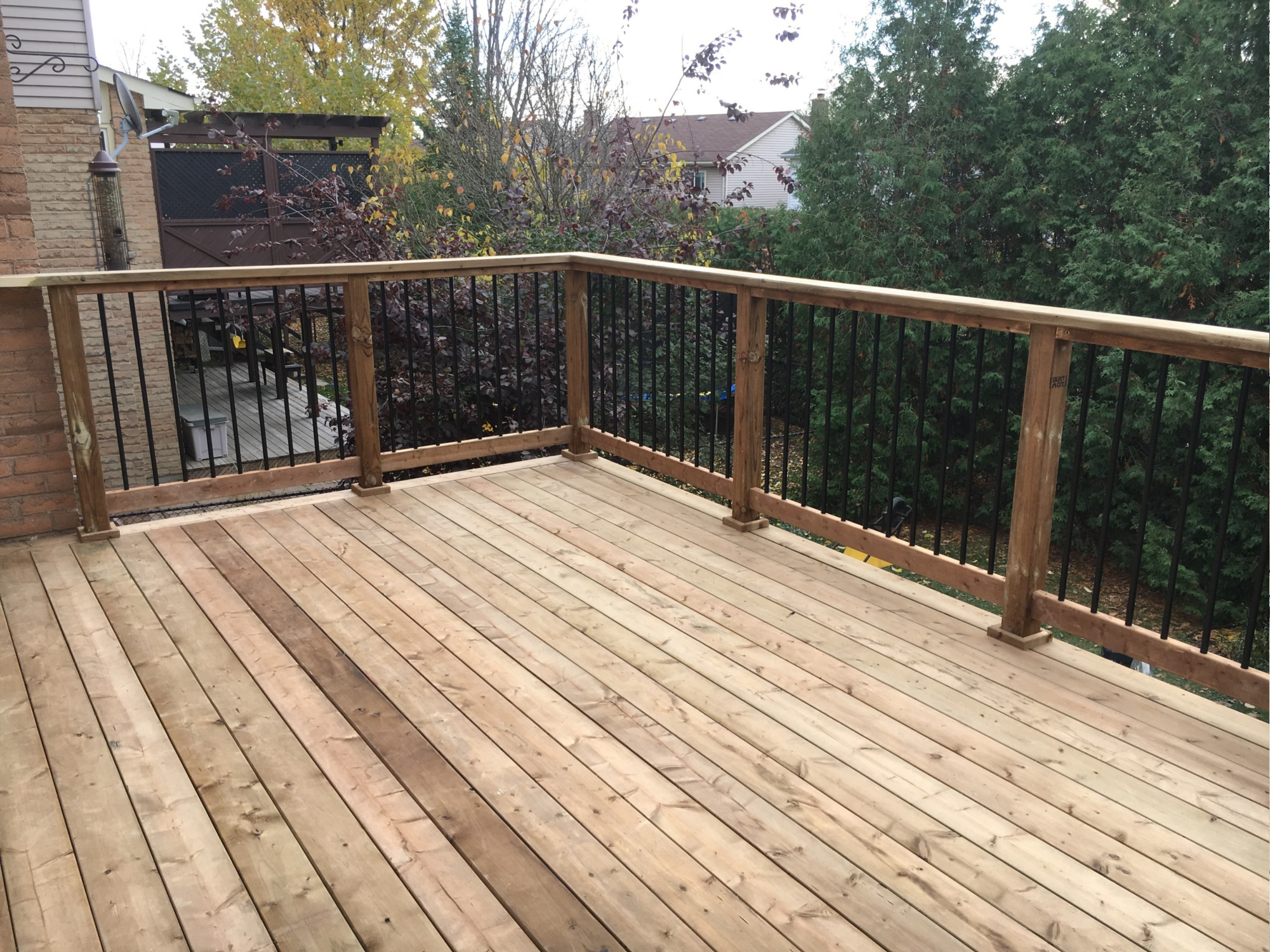 Delayne Drive Deck - After Construction View From Deck Left