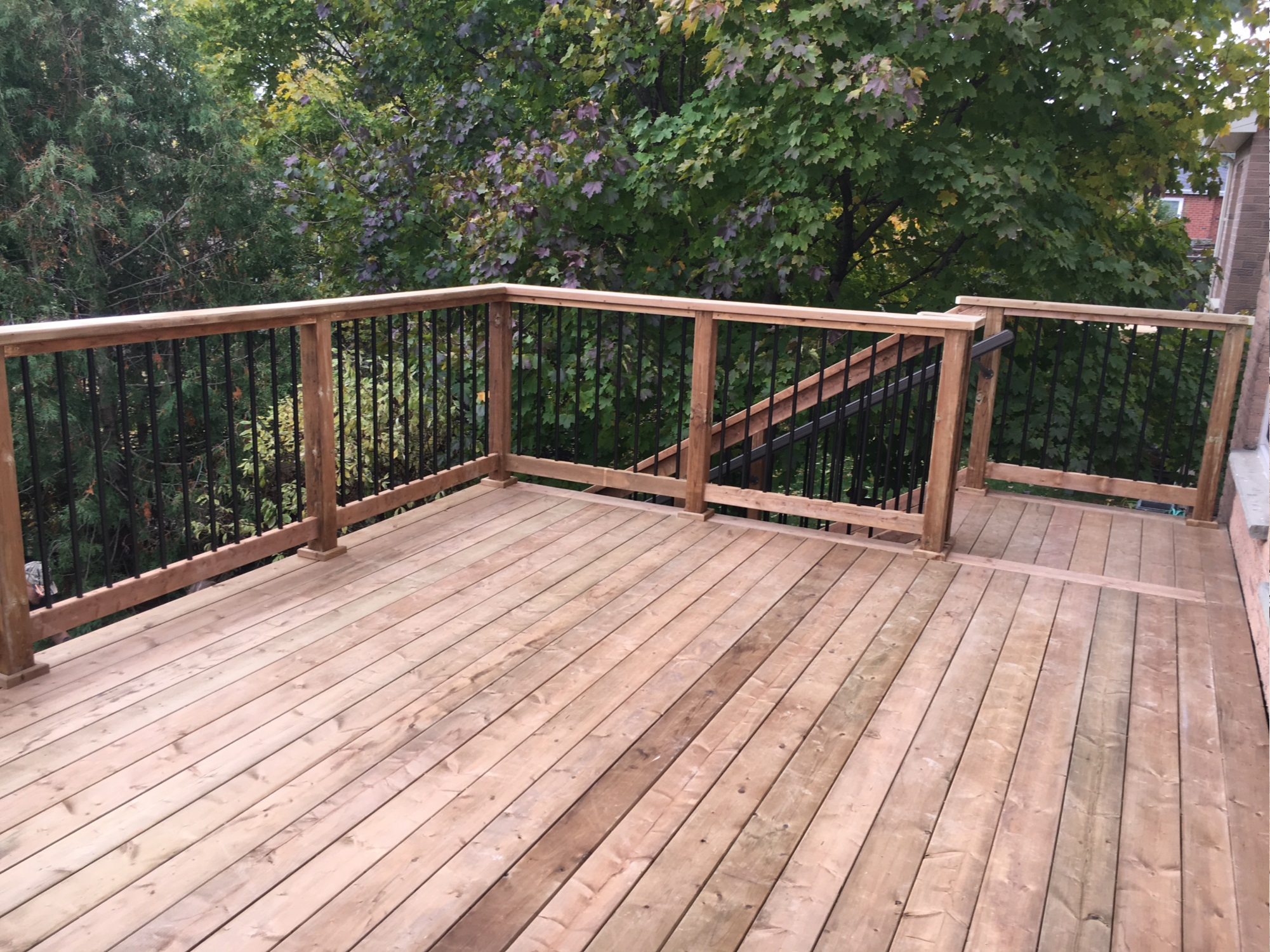 Delayne Drive Deck - After Construction View From Deck Right