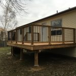 Angus Deck - After Construction Front Right View