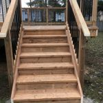 Angus Deck - After Construction Stairs