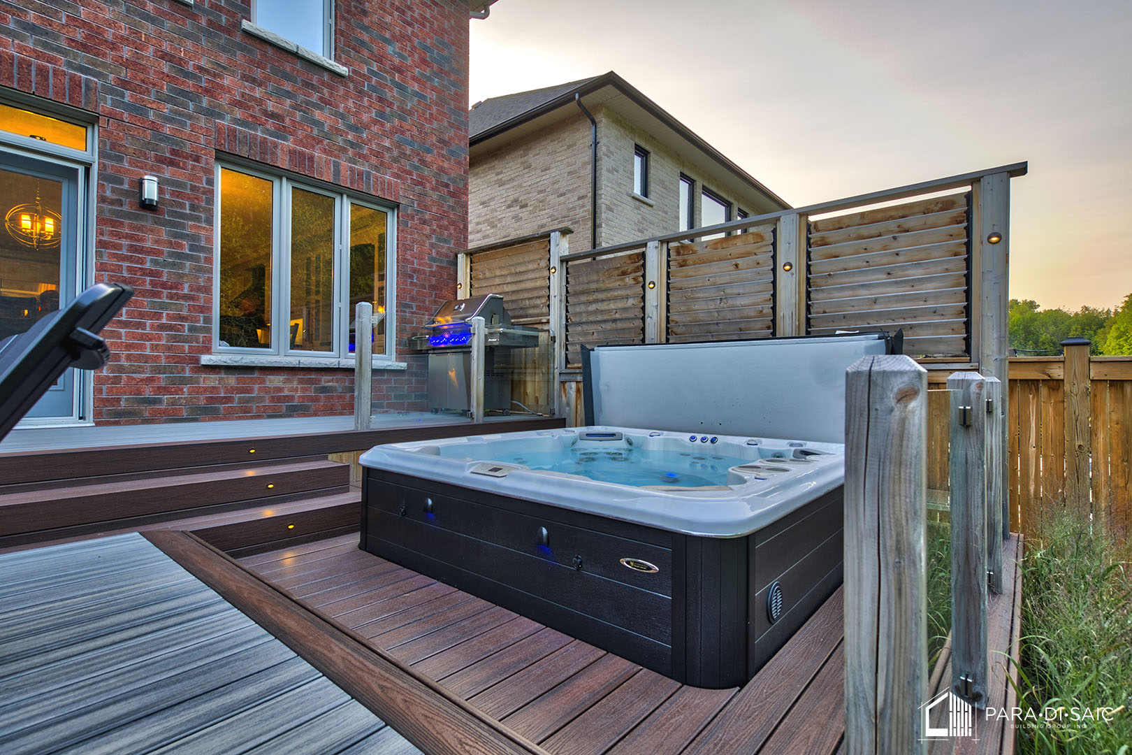 Courtice Deck – Hot Tub Area | Architectural Drafting in Muskoka ...
