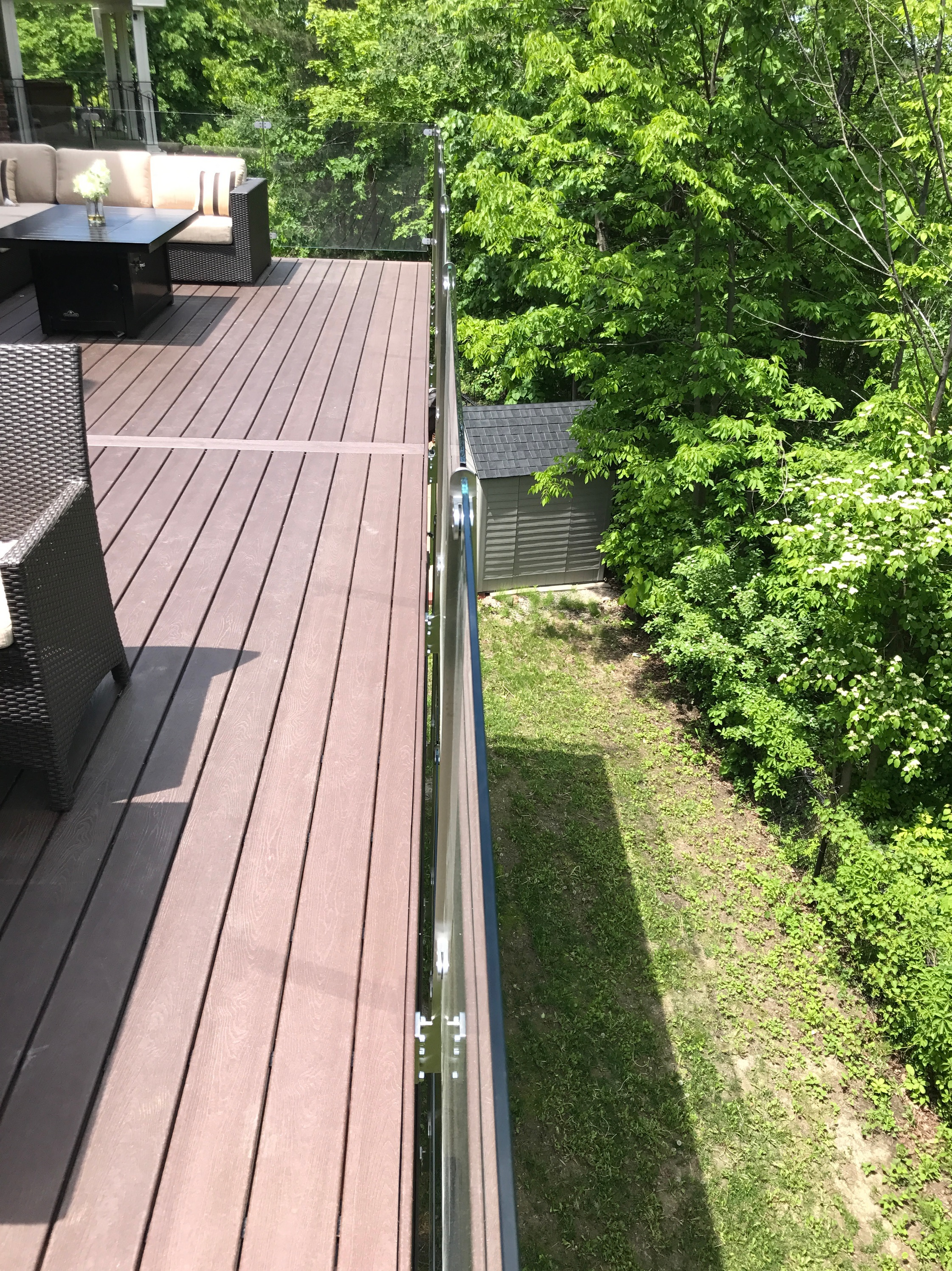 RH Elevated Deck - View over Guard