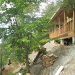 NML Cottage - During Construction - Cov Porch