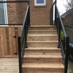 Keswick Deck 3 - After Construction Stairs Head on