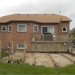 Keswick Deck 3 - Before Construction Front View