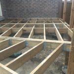 Bradford Deck - During Construction Framing