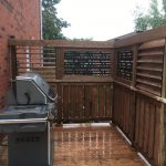 Doon Crescent Deck - After Construction BBQ Area