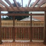 Doon Crescent Deck - After Construction Under Pergola