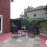 Doon Crescent Deck - Before Construction Looking Right (BBQ Area)
