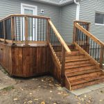 Kawartha Lakes Deck - Front Left View