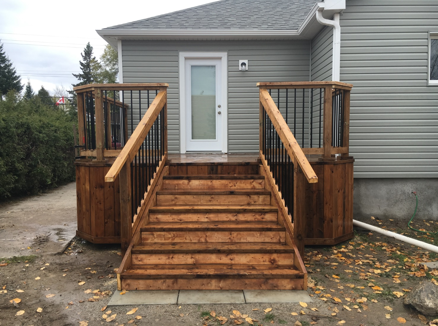 Kawartha Lakes Deck - Front View