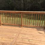 Willow Beach Deck 2 - After Construction - Guard Post and Spline