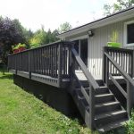 Willow Beach Deck 2 - Before Construction - Right Side Corner View